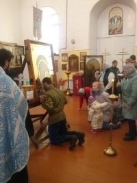 Крестный ход с «Табынской» иконой Божией Матери в с. Уварово
